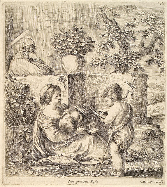 Virgin & Child With St. John & St. Elizabeth