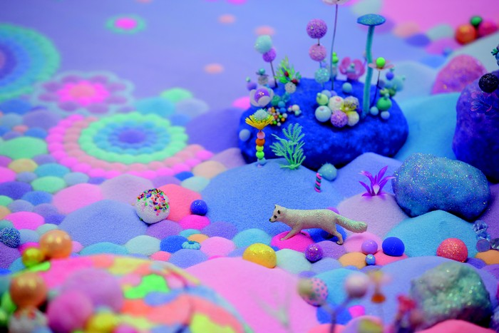 Pip & Pop Journey in a Dream Shinsegae Gallery, Korea, 2015. Mixed media. Photo: Park Myungrae
