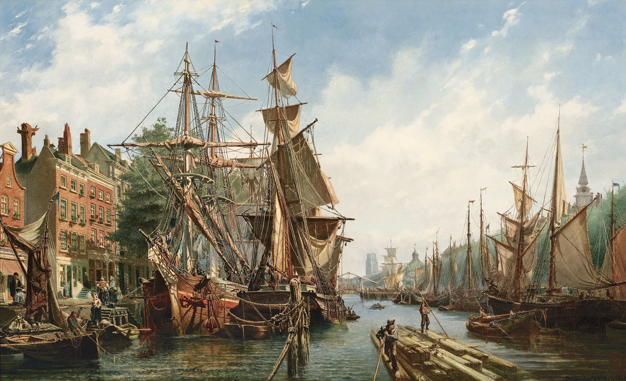 New van der Velden painting on display