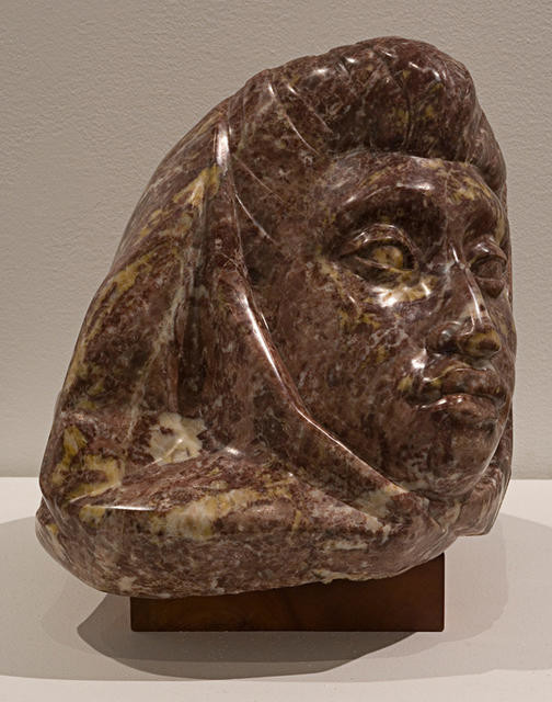 Head of a Maori Woman