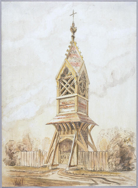 Belfry for Church of St Michael and All Angels