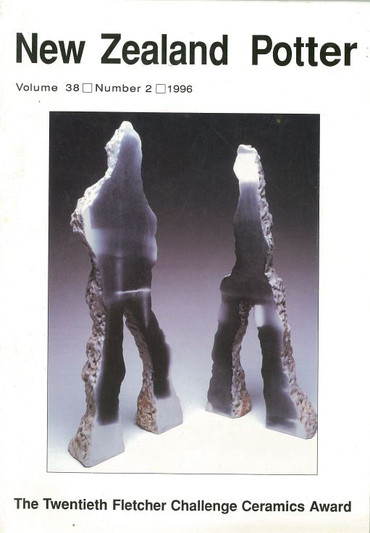 New Zealand Potter volume 38 number 2, 1996