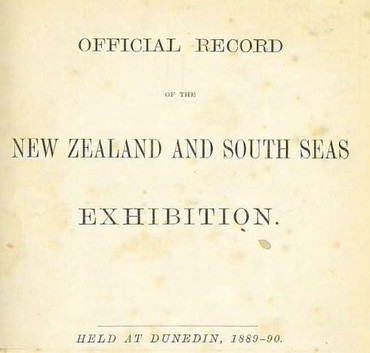 New Zealand and South Seas Exhibition, pages 246-265