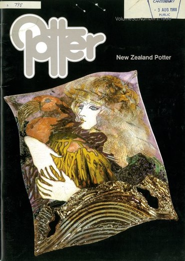 New Zealand Potter volume 30 number 2, 1988