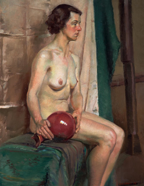 Untitled study of a woman