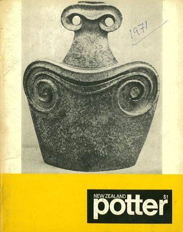 New Zealand Potter volume 13 number 2, Spring 1971