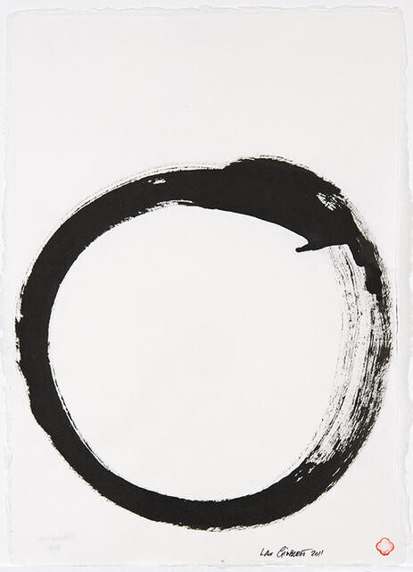 Christchurch Enso by Max Gimblett