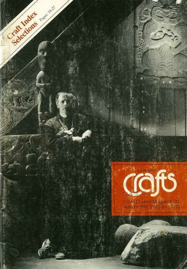 New Zealand Crafts issue 20, Autumn 1987