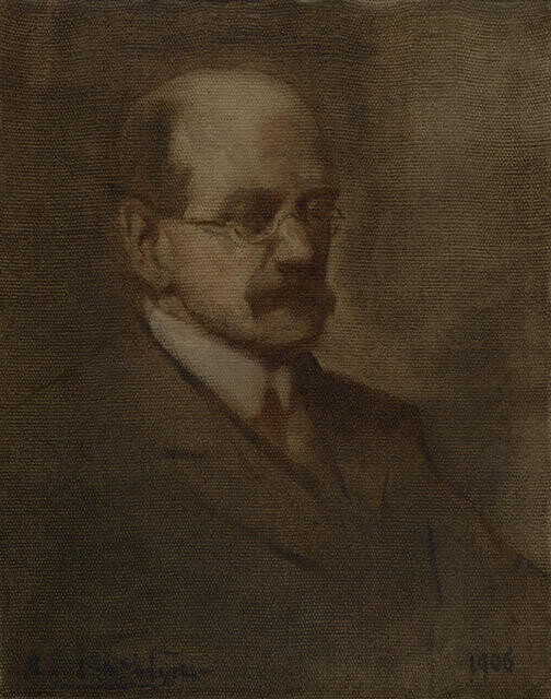 Portrait Sketch of James Jamieson