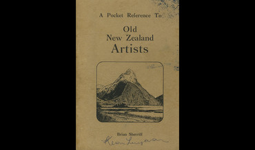 Pocket reference to old New Zealand artists by Brian Sherriff