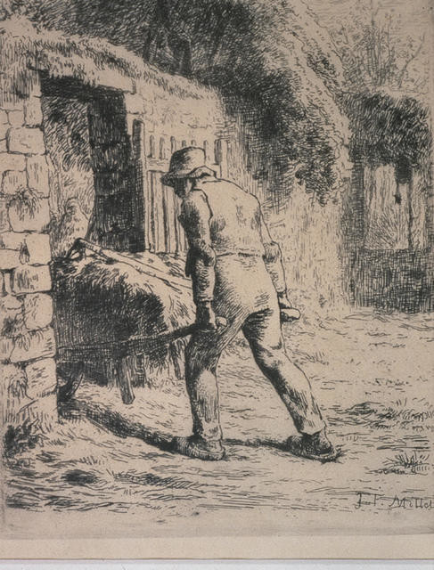 Le paysan rentrant du fumier [Peasant Returning from the Manure Heap]