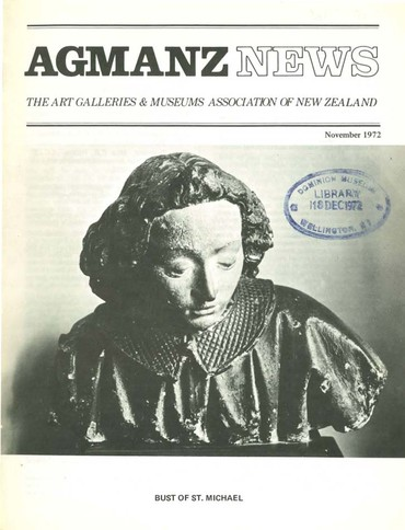 AGMANZ News Volume 3 Number 3 November 1972