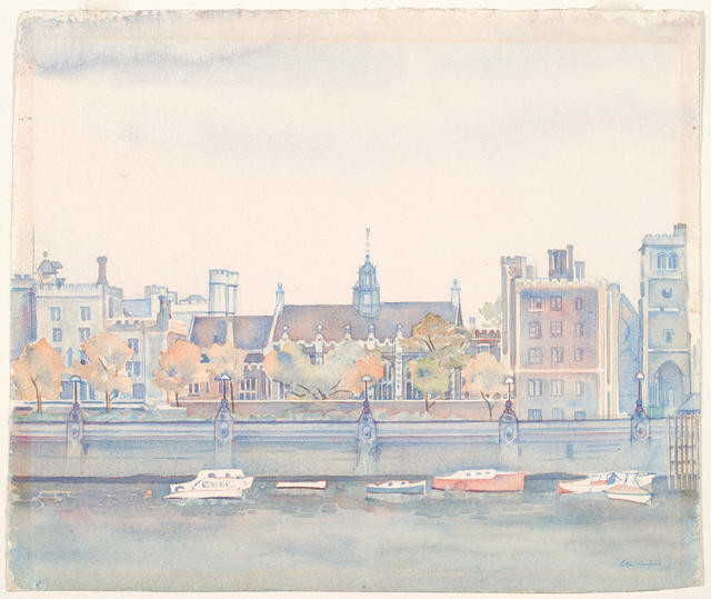 Lambeth Palace from Westminster