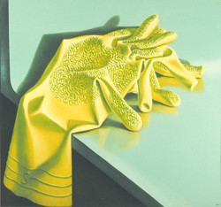 Rubber Gloves by Michael Smither