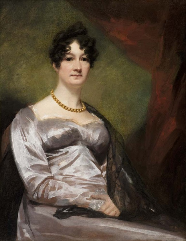 Sir Henry Raeburn Mrs Barbara Walker of Bowland 1819. Oil on canvas. Collection of Christchurch Art Gallery Te Puna o Waiwhetu, presented by the Walker family 1984