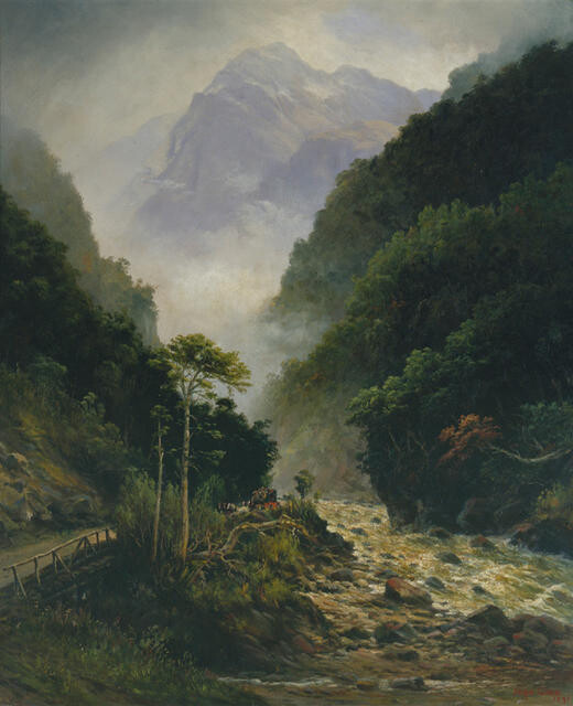 Clearing up, Otira Gorge