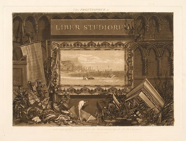 Frontispiece To The 'Liber Studiorum'
