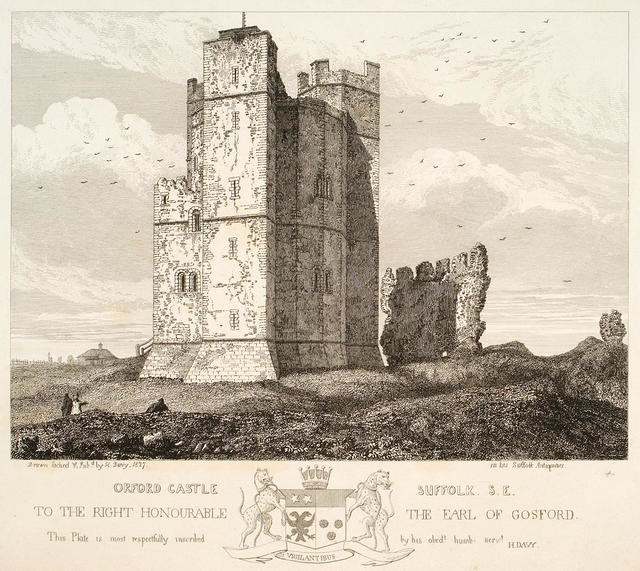 Orford Castle, Suffolk, S.E.