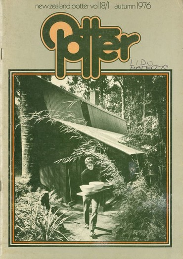 New Zealand Potter volume 18 number 1, Autumn 1976
