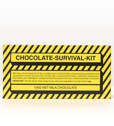 Chocolate Survival Kit 100g