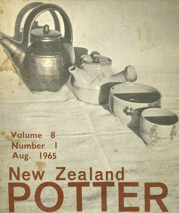 New Zealand Potter volume 8 number 1, August 1965