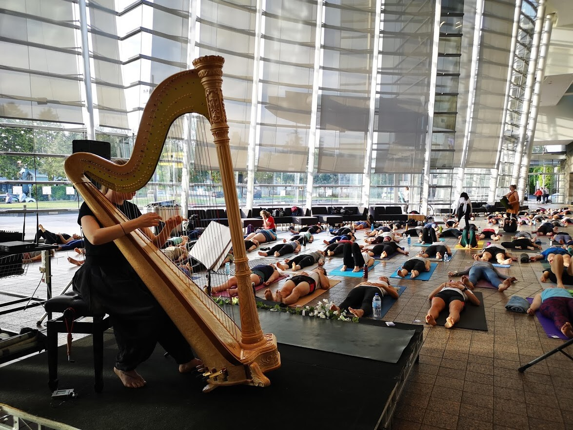 Harp Yoga: The Antidote to Pre-Christmas Stress