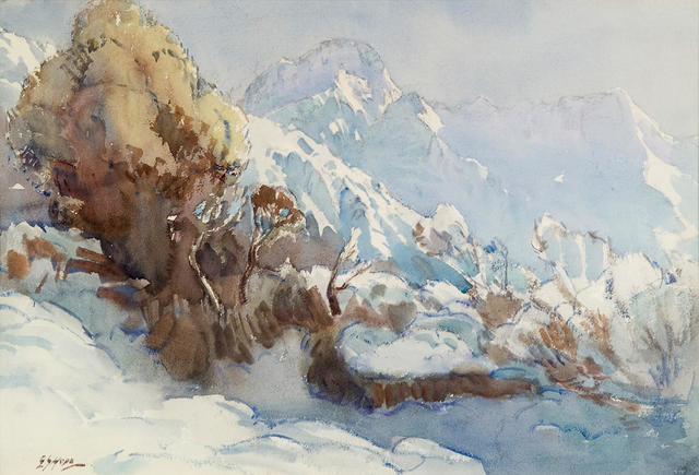 Wintertime, Mount Sefton