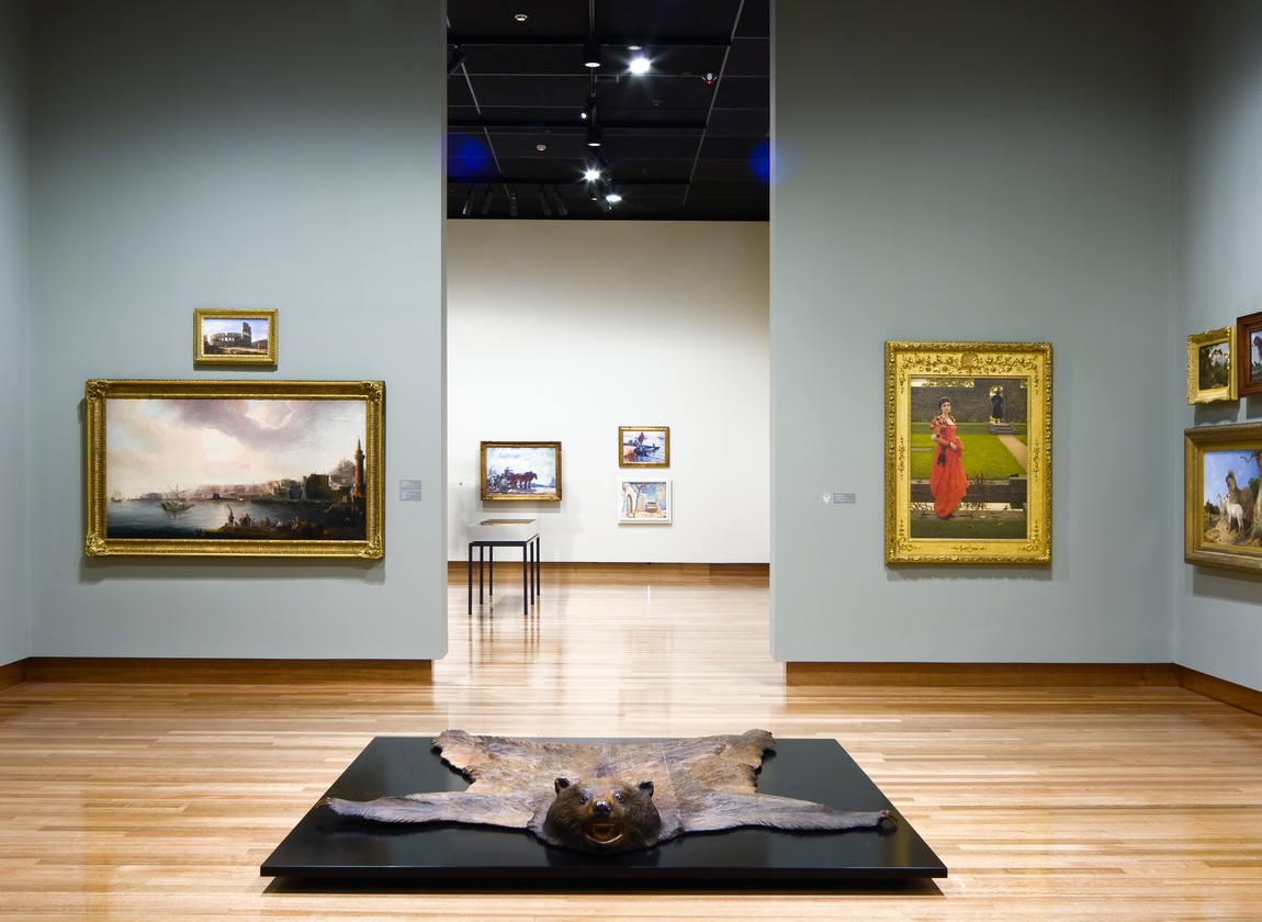 Installation view of Brought to Light: a new view of the collection in 2010