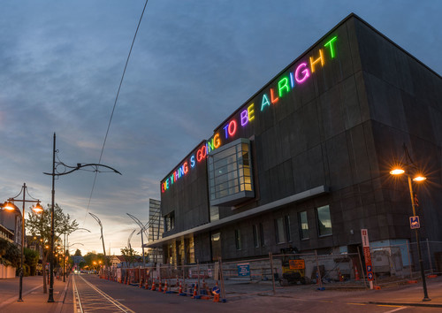 Martin Creed Work no 2314 2015. Neon. Commissioned by Christchurch Art Gallery Foundation, gift of Neil Graham