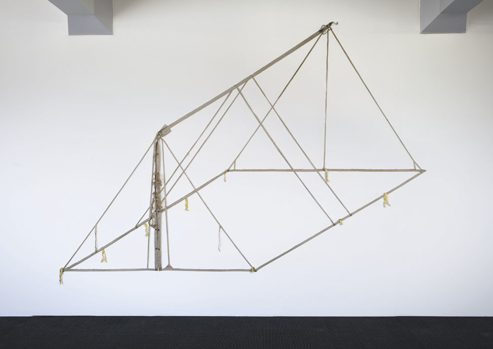 Pip Culbert Pup Tent 1999. Canvas, metal, rope. Courtesy of the artist