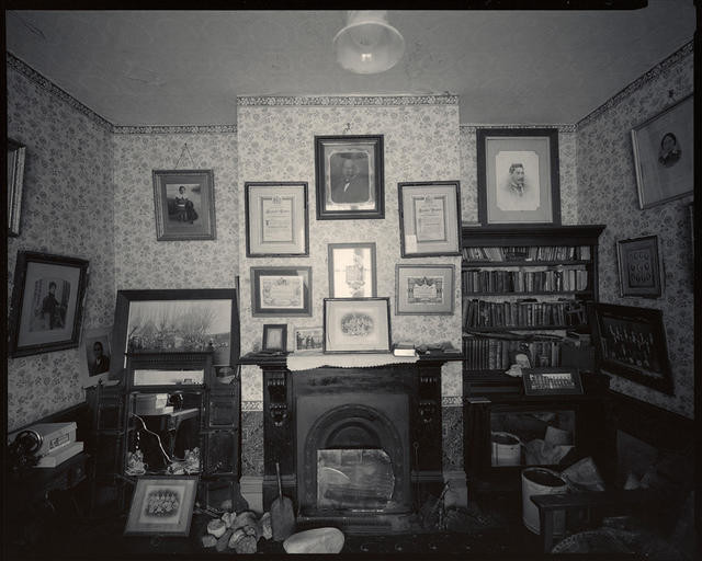 Interior #2, Awhitu House, Taumutu, Canterbury, 18 March 1983