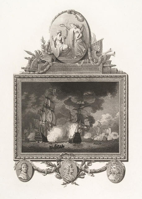 Defeat Of The Dutch Fleet, 3 June 1665
