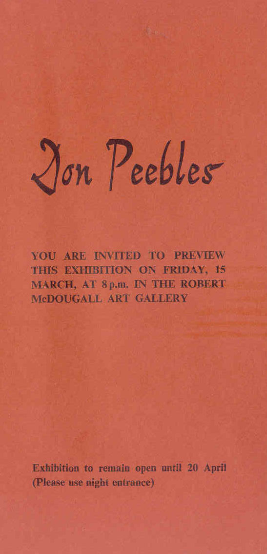 Don Peebles: Drawings of the 1980s