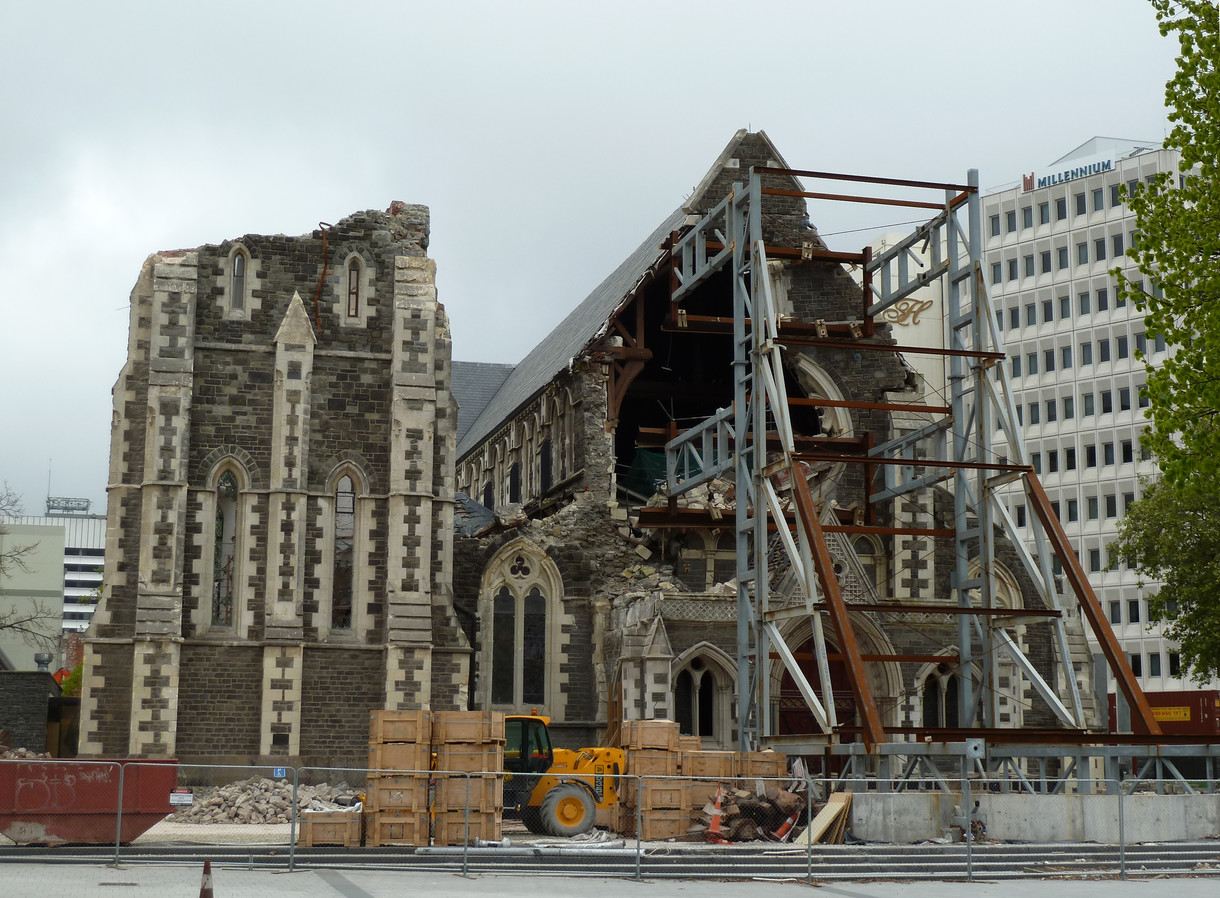 Fate of ChristChurch Cathedral