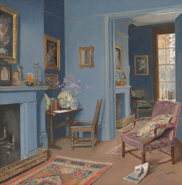 A Blue Room In Kensington