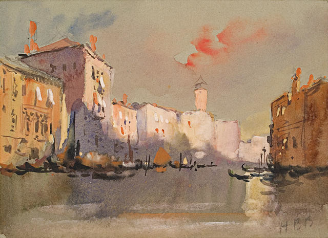 Evening, Grand Canal