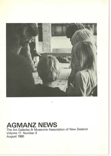AGMANZ News Volume 11 Number 3 August 1980