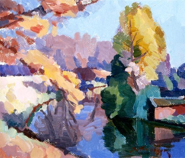Autumn on the Avon