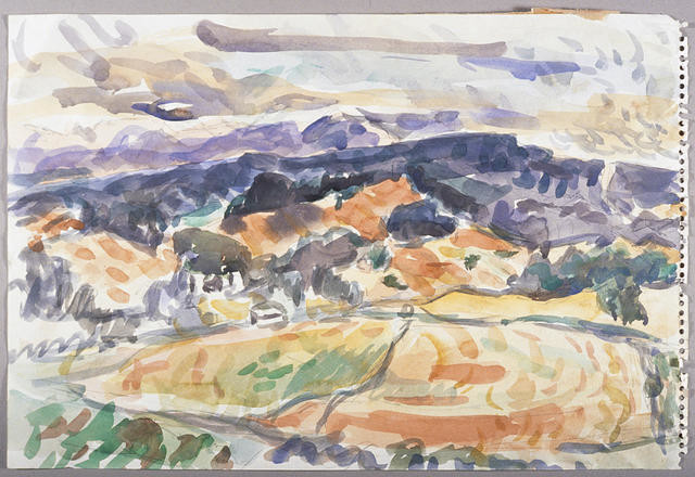 Study for Neudorf Landscape