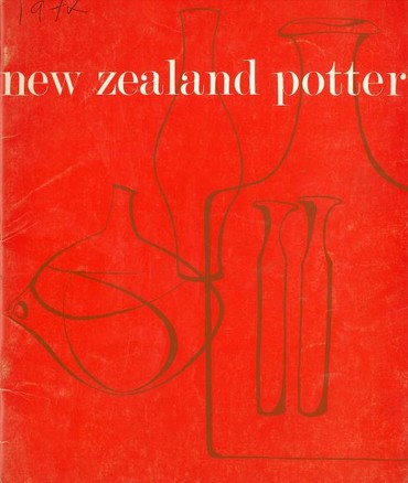 New Zealand Potter volume 14 number 2, Spring 1972