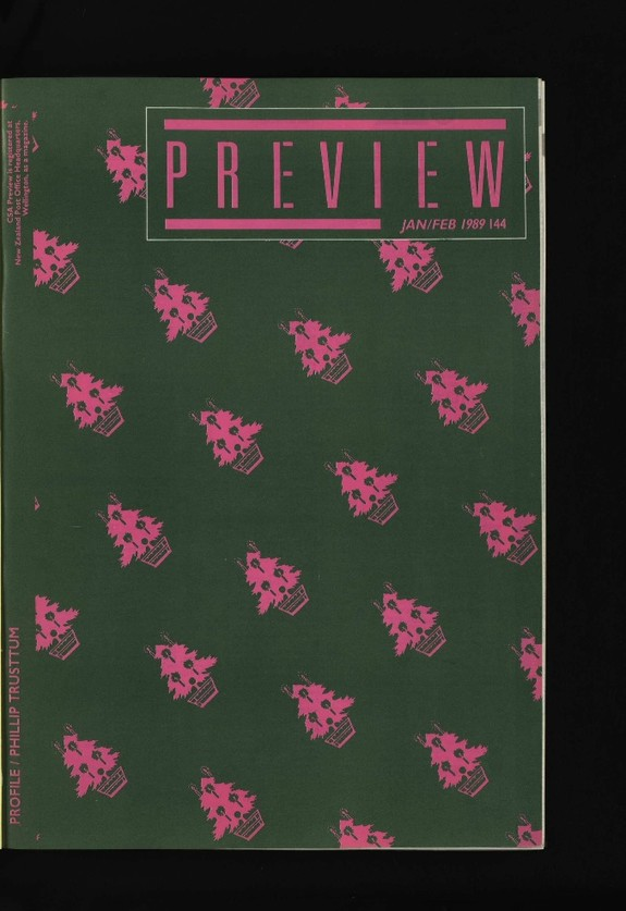 Canterbury Society of Arts Preview, number 144, January/February 1989