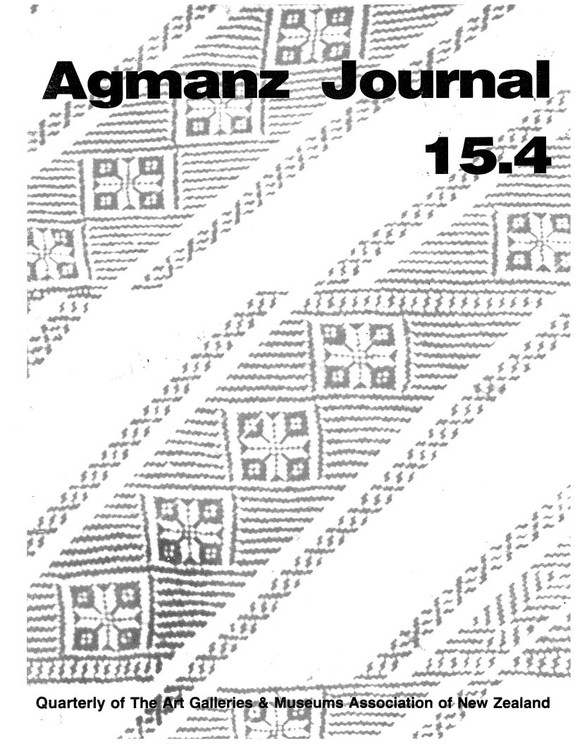 AGMANZ Journal Volume 15 Number 4 December 1984