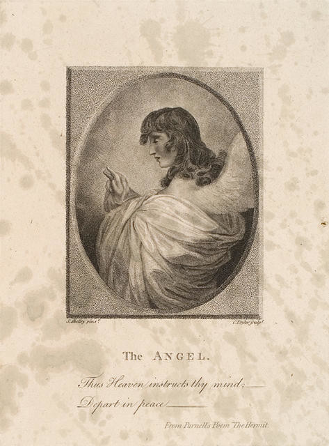 The Angel. Thus Heaven Instructs The Mind; Depart In Peace - (From Parnell's Poem 'The Hermit')