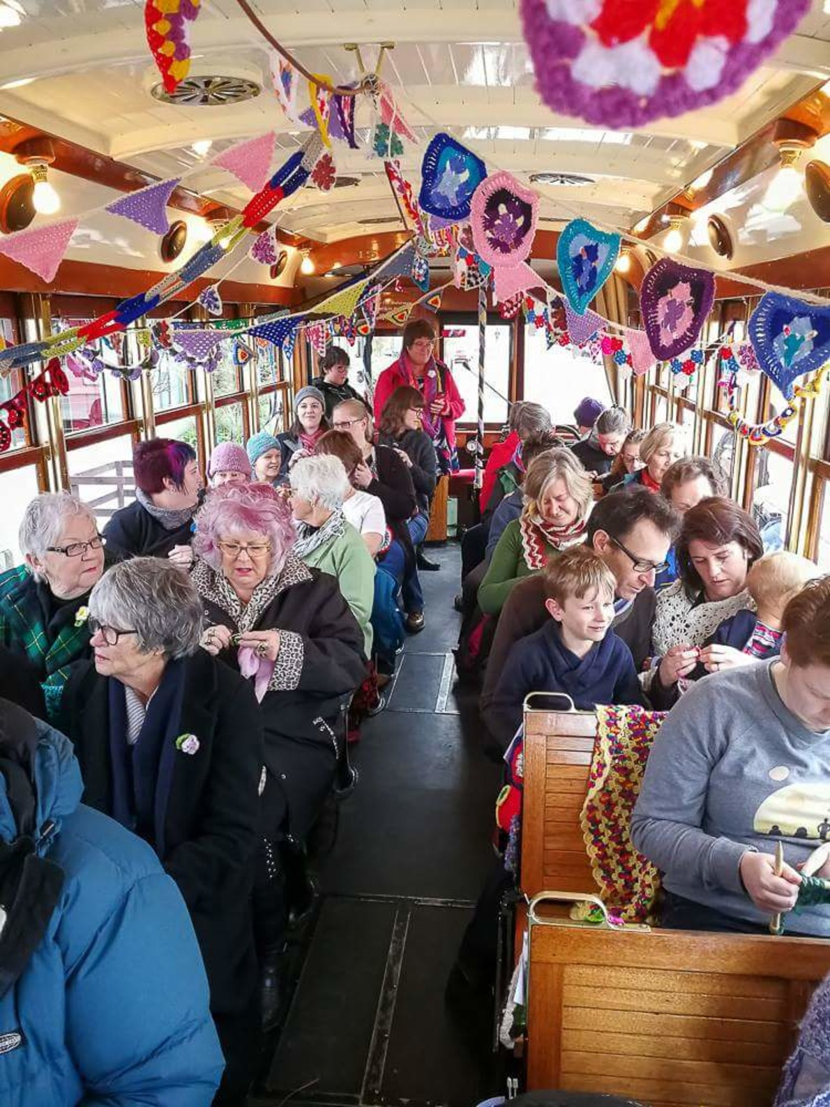 World Knit in Public Day | Christchurch Art Gallery Te Puna o Waiwhetū