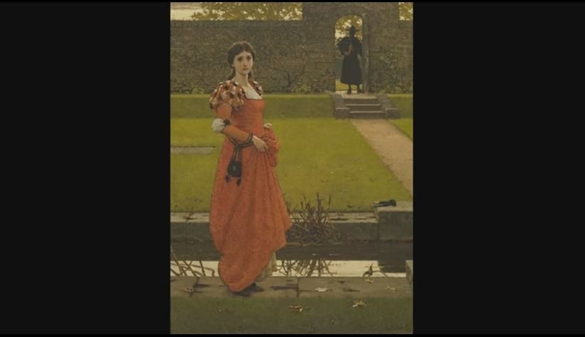 George Dunlop Leslie - In the wizard's garden