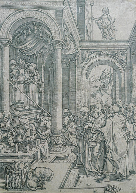 The Presentation of the Virgin, from The Life of the Virgin, after Albrecht Dürer