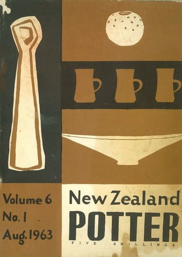 New Zealand Potter volume 6 number 1, August 1963