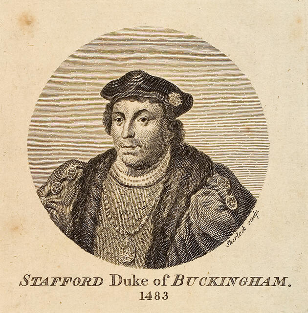 Stafford Duke of Buckingham 1483