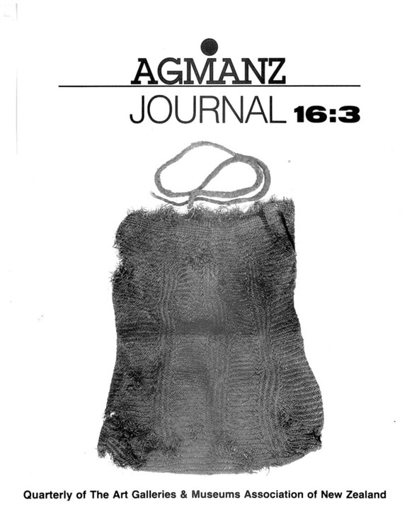 AGMANZ Journal Volume 16 Number 3 September 1985