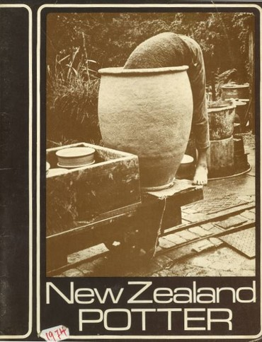 New Zealand Potter volume 16 number 2, Spring 1974